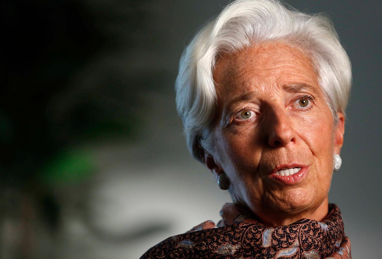 Lagarde ziet risico's voor wereldwijde groei   Foto