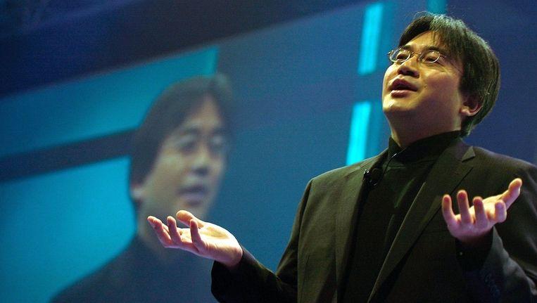 Satoru Iwata. Beeld PHOTO_NEWS