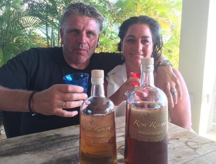 Jonnie en Therèse Boer op Bonaire.