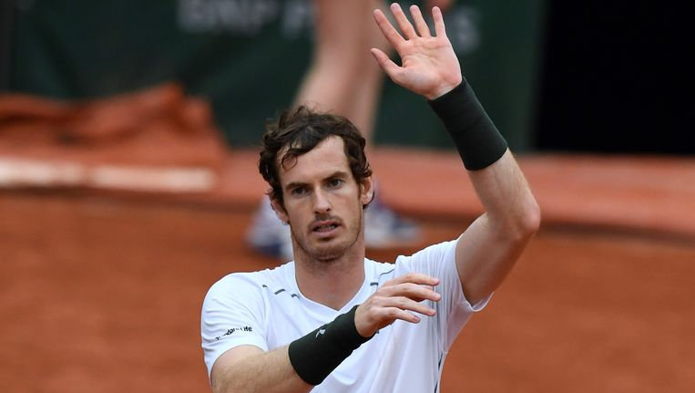 Andy Murray. Beeld AFP