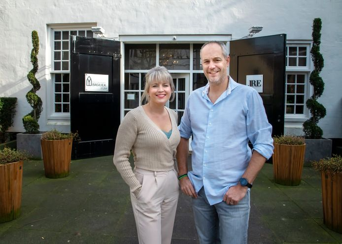 Tabitha en Rik Jansma van Basiliek in Harderwijk sluiten na corona hun sterrenzaak in het weekend.