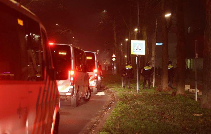 De politie in Graafsewijk.
