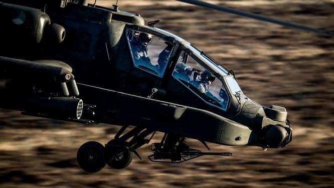 Luchtmacht oefent een week tussen de rivieren: Apaches bootsen aanvallen na