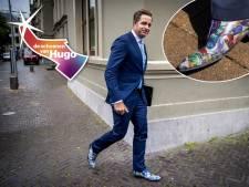 De schoenen van Hugo zijn bepaald geen allemansvrienden, Wopke kiest voor veilig