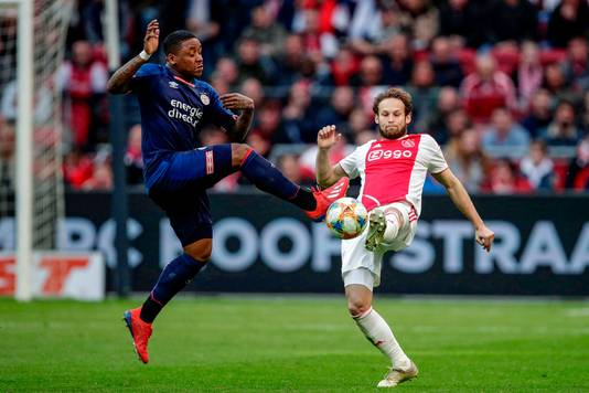 Daley Blind is op de weg terug bij Ajax, Steven Bergwijn is inmiddels vertrokken bij PSV.