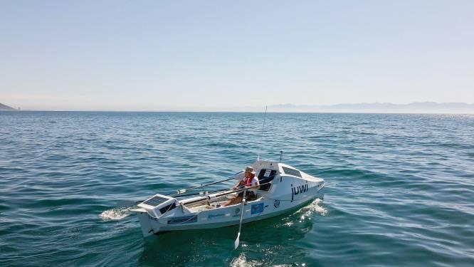Zuid-Afrikaan (59) roeit solo van Kaapstad naar Rio de Janeiro