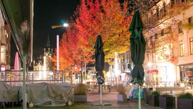Geen levende ziel meer op straat, zelfs voor de avondklok ingaat: Sint-Niklaas by night