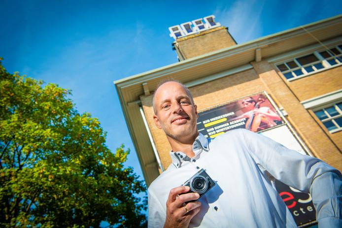 Jeffrey de Grijs, voorzitter van Fotostad Apeldoorn. ,,We bieden meer workshops en inspiratiesessies en hopen daardoor een breder publiek aan te spreken.''