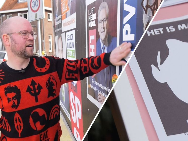 'Saaie verkiezingsposters zouden véél beter kunnen'