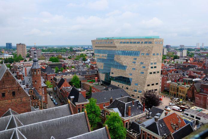Het gebouw van Forum Groningen.