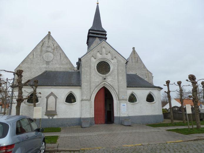 De Sint-Annakerk van Stene in Oostende
