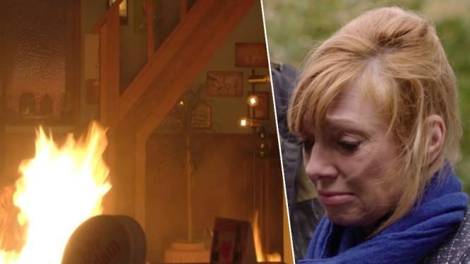 Brandbom zorgt voor paniek in 'Thuis': noodlot blijft Frank en Simonne achtervolgen