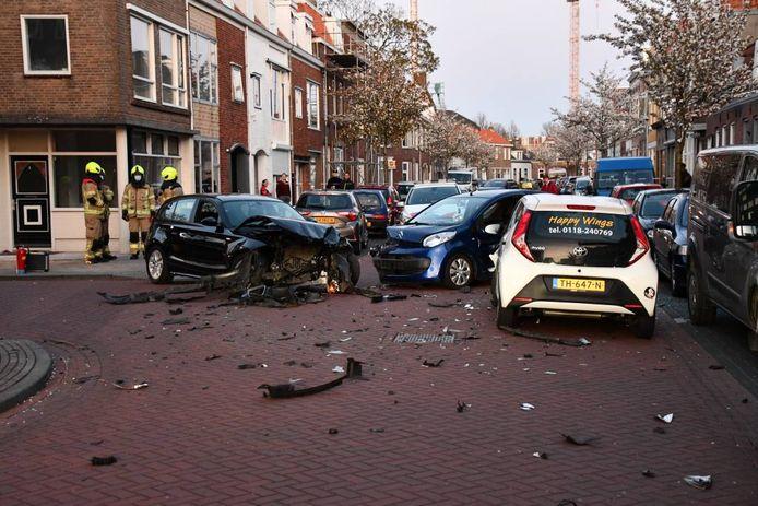 Ongeluk in Vlissingen.