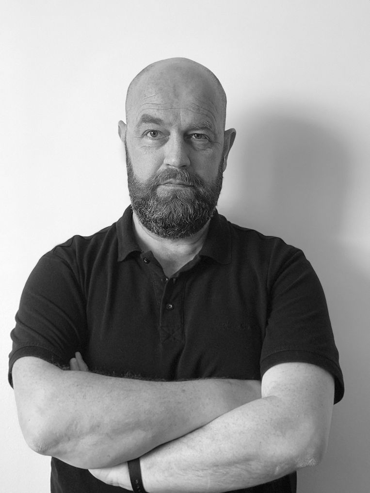 Joost Swanborn, taalkundige en eigenaar van Taaldokter.nl, bureau voor tekst, training en advies.  Beeld