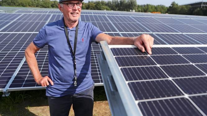 René (68) is de man achter het eerste Amersfoortse zonneveld: 'Mensen snappen niet wat ons boven het hoofd hangt'