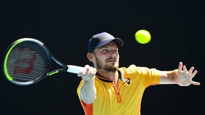 """David Goffin laat 4 matchpunten liggen en sneuvelt al in eerste ronde van Australian Open: """"Ik had altijd moeten winnen"""""""