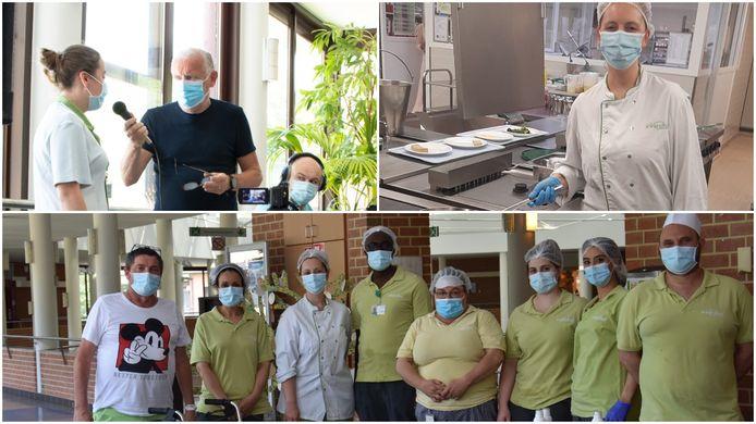 Het personeel van revalidatieziekenhuis Inkendaal verwende de revalidanten extra deze week.