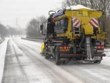 Rijkswaterstaat volop druk met strooien: al meer dan miljoen kilo zout op de wegen
