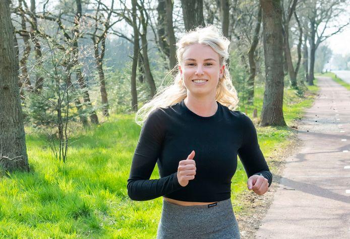 Tamara Schuurmans werd tijdens een rondje hardlopen aangerand.
