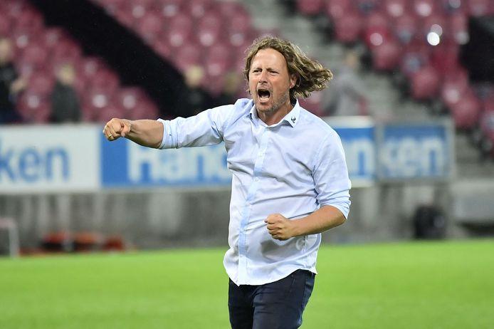 Bo Henriksen degradeerde afgelopen seizoen nog met AC Horsens, maar werd desondanks trainer van FC Midtjylland.
