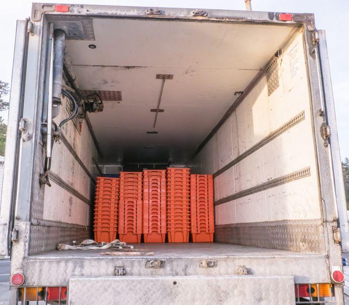 Een vrachtwagen met koelruimte (foto ter illustratie).