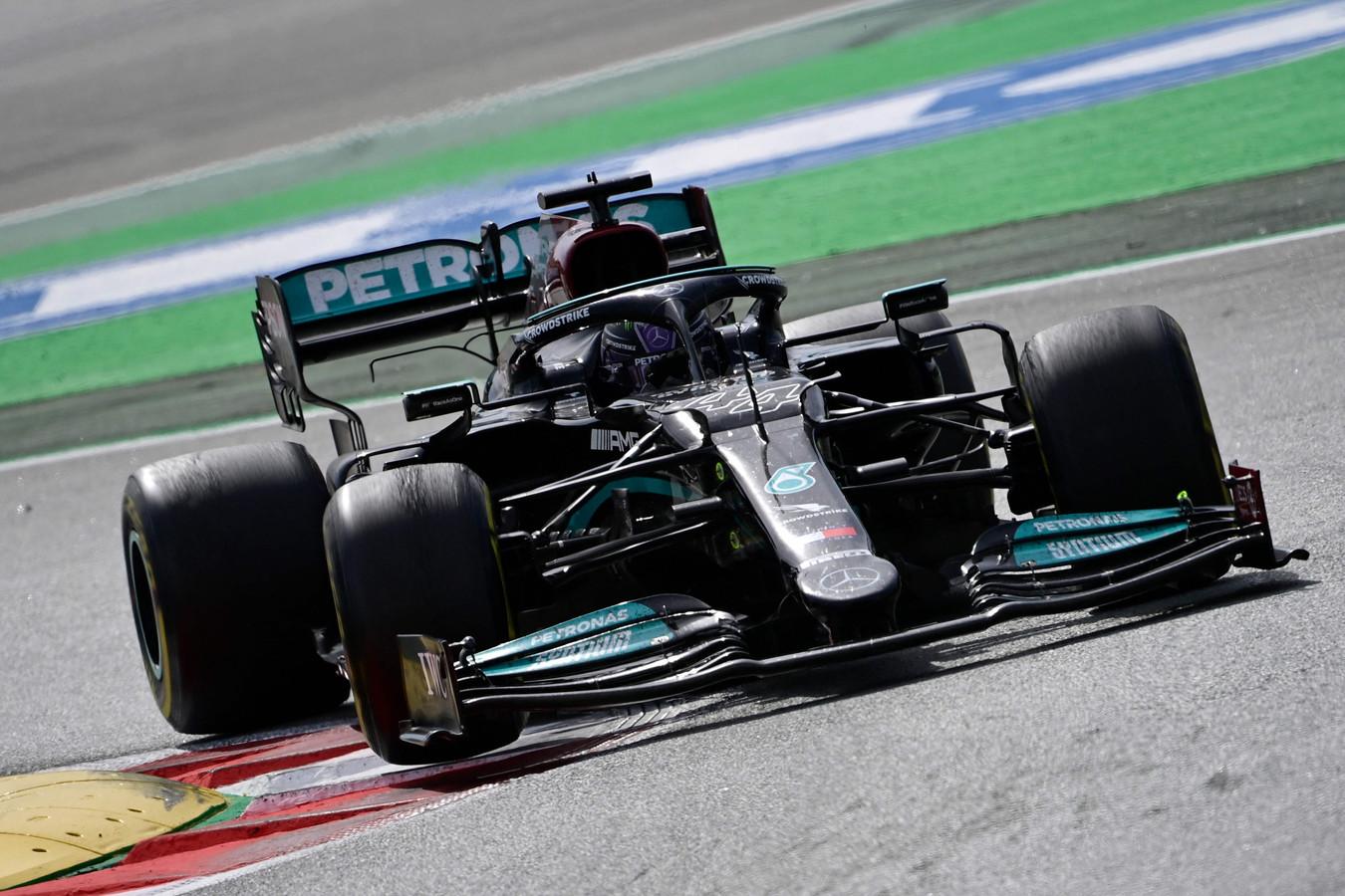Troisième victoire de la saison pour Lewis Hamilton.