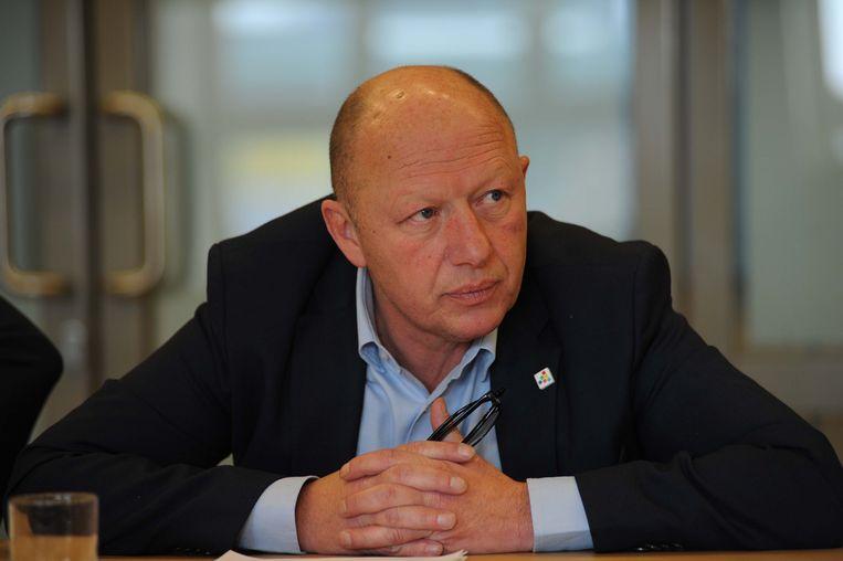 Burgemeester Hans Bonte (sp.a) Vilvoorde