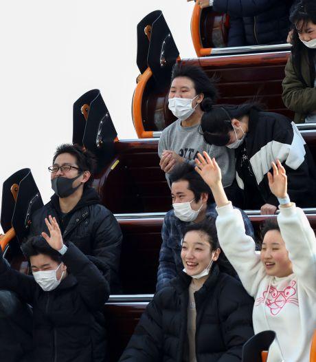 Au Japon, il est désormais interdit de crier dans les attractions à cause du coronavirus
