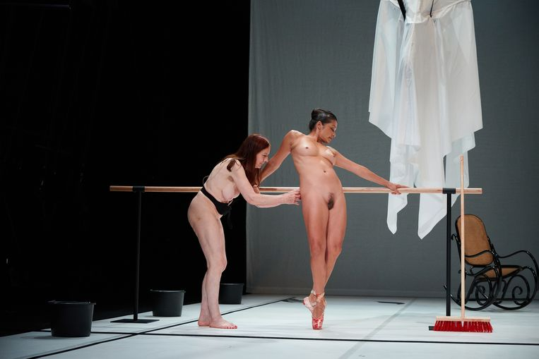 Tanz van Florentina Holzinger. Beeld Eva Würdinger