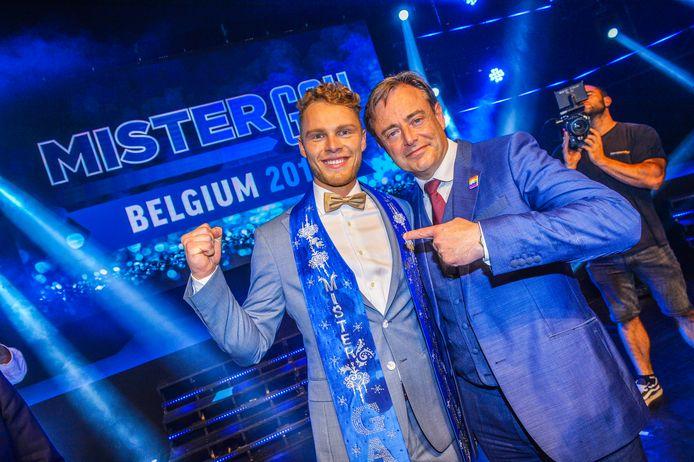 Vorig jaar werd de winnaar - Matthias De Roover - bekendgemaakt door Antwerps burgemeester Bart De Wever