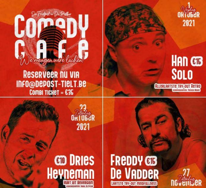 SIes Baert haalt Han Solo, Dries Heyneman en Freddy De Vadder naar Tielt