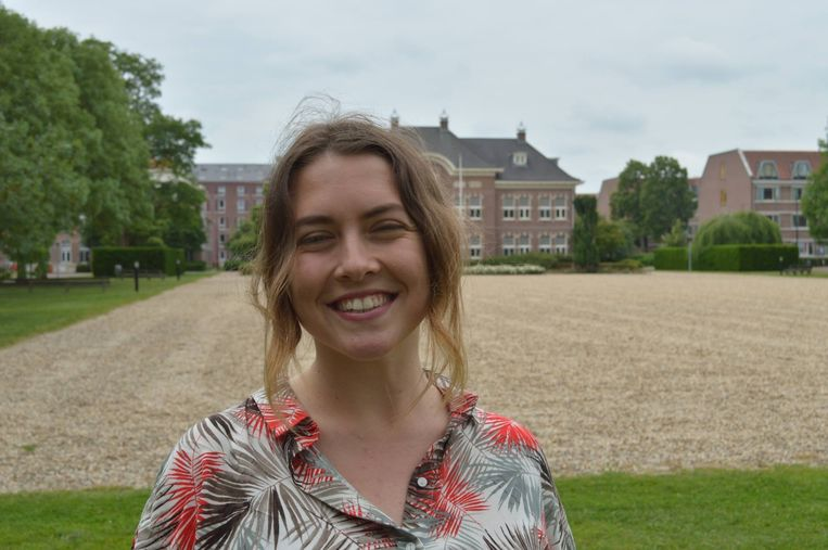 Evi Sifaki (23): 'Het is fijn om zo snel mogelijk van alle angst en onzekerheid af te komen.' Beeld