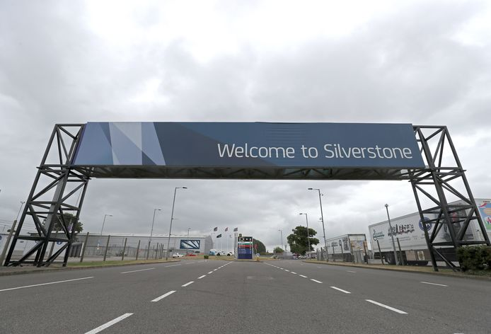 File photo dated 11-07-2017 of the main entrance at Silverstone Circuit, Towcester.