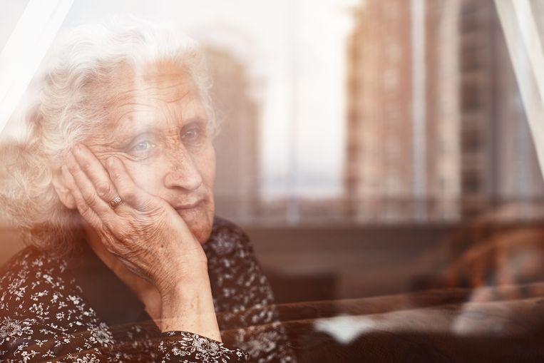 Artsen maken zich zorgen om ouderen die de deur nog niet uit durven Beeld Getty Images