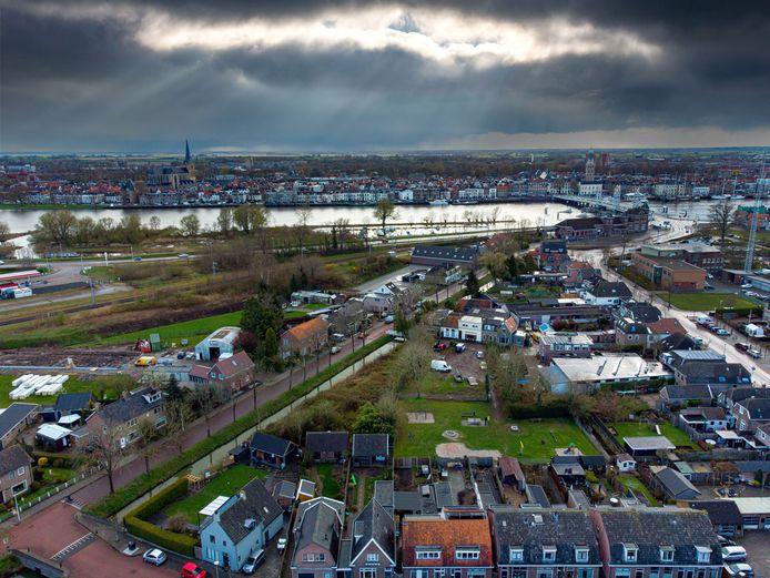 De Blekersdam in IJsselmuiden. De buurt heeft daar bij de gemeente aan de bel getrokken en is tegen de komst van een zorgcomplex voor mensen met een beperking.