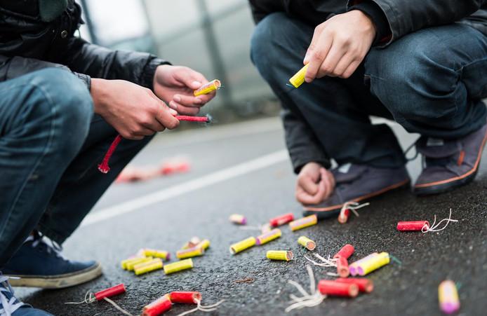 In Berkelland richtte vuurwerk 8.860 euro schade aan in de openbare ruimte.