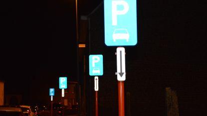 Opmerkelijk: Bovenhoekstraat staat vol parkeerborden