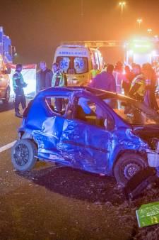 Vrouw overleden bij ongeluk met vrachtwagen op A2 tussen Best en Boxtel
