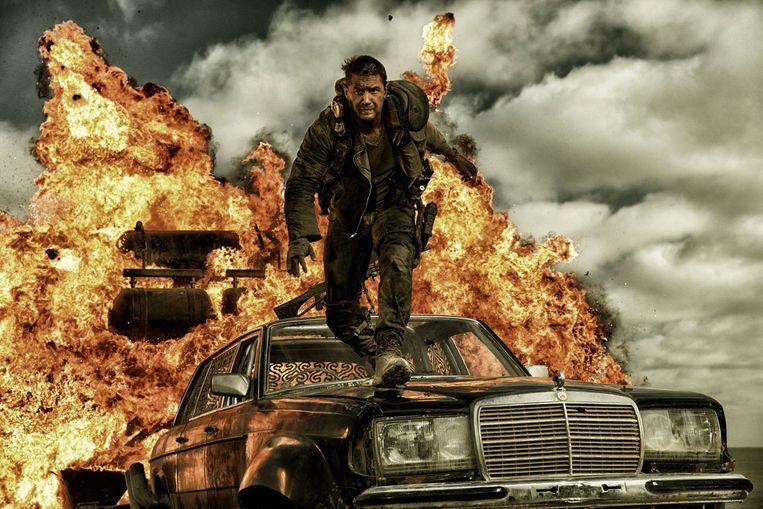Tom Hardy in 'Mad Max: Fury Road'. Beeld rv