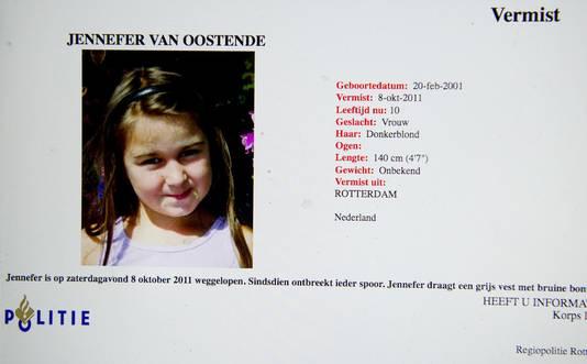 Het lichaam van het meisje werd op 10 oktober gevonden in de woning van de verdachte in de Rotterdamse wijk Charlois.