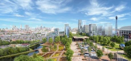 Ambitieus plan: nieuw Feijenoordpark verbindt omgeving Kuip met oude wijken op Zuid