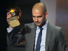 Pep Guardiola désigné entraîneur de l'année