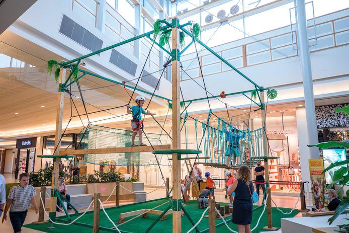 Dolle pret voor kinderen, in Waasland Shopping in Sint-Niklaas.