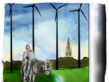 Actiegroep: 'Plan voor windmolens A59 bij Oosterhout is illegaal'