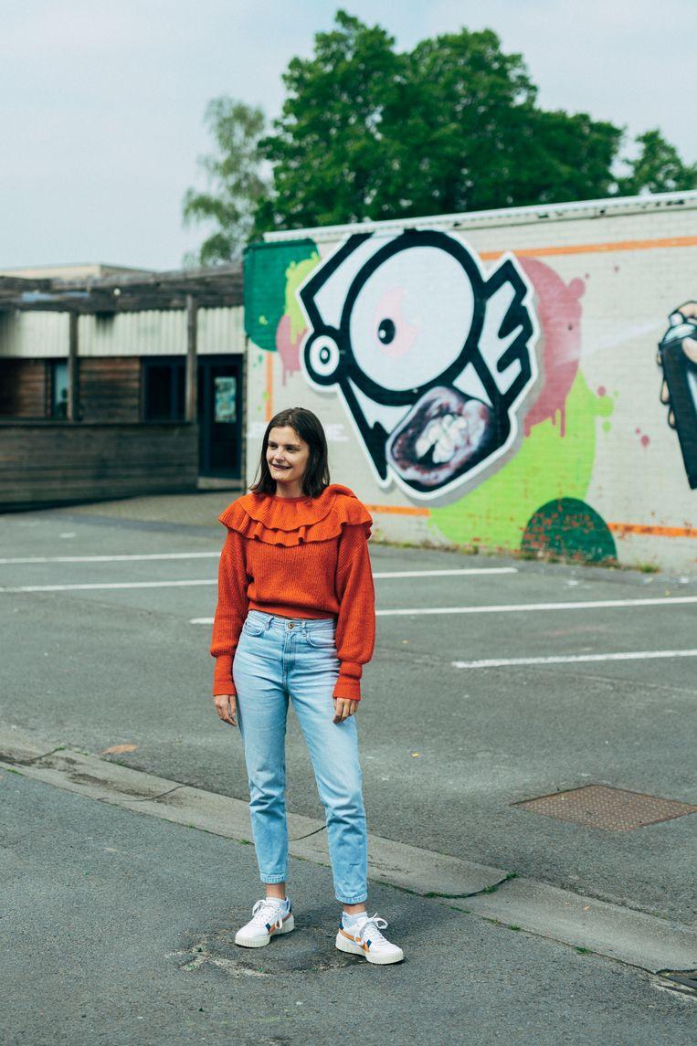 Emma Messely: 'Hopelijk is een lightversie van ons zomerprogramma een optie.' Beeld Illias Teirlinck