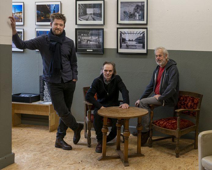 De mannen van Fixeer: Jordi Schoffelen, Chris Oomes en Michaël Molenaar.