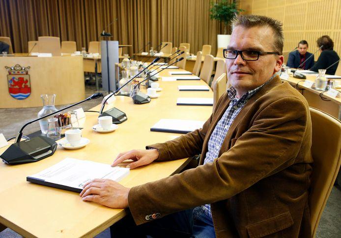 D66-raadslid Peter de Kraker.