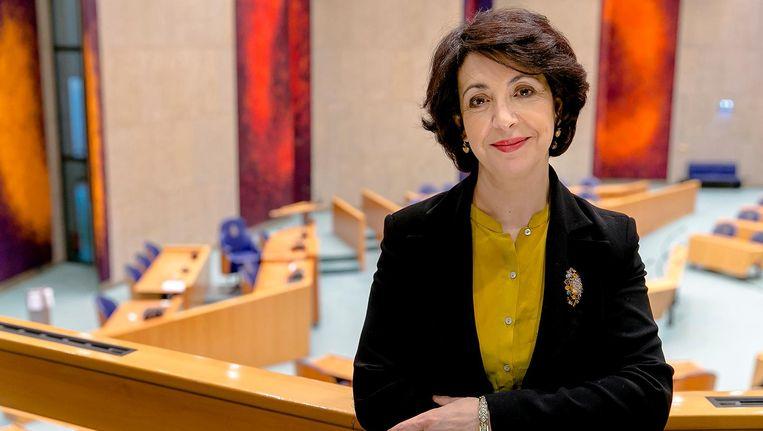 Khadija Arib in de Tweede Kamer Beeld Sander Koning/ANP