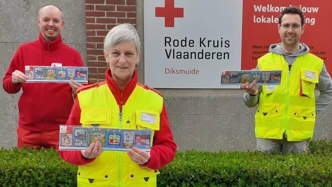 """Morgen start de stickerverkoop van het Rode Kruis. """"We staan niet op kruispunten maar handelszaken springen in de bres"""""""