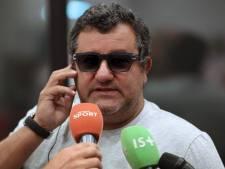 La FIFA étend au monde entier la sanction contre Mino Raiola
